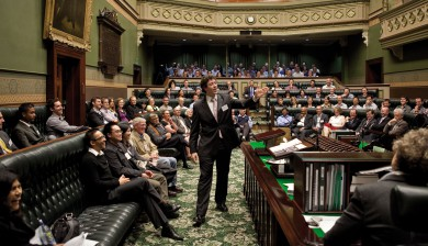 The 2011 Expressive Engineering Debating Series at NSW Parliament House